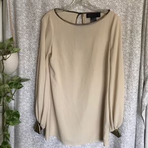 Kardashian Kollection gold tunic